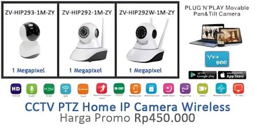 Promo PTZ Home IP Wireless Camera